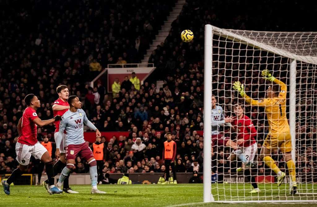 Manchester United gegen Aston Villa - Premier League