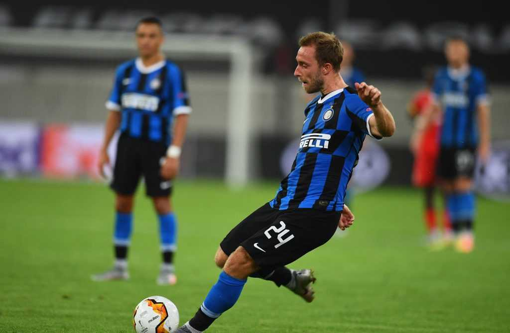 Christian Eriksen von Inter Mailand in Aktion
