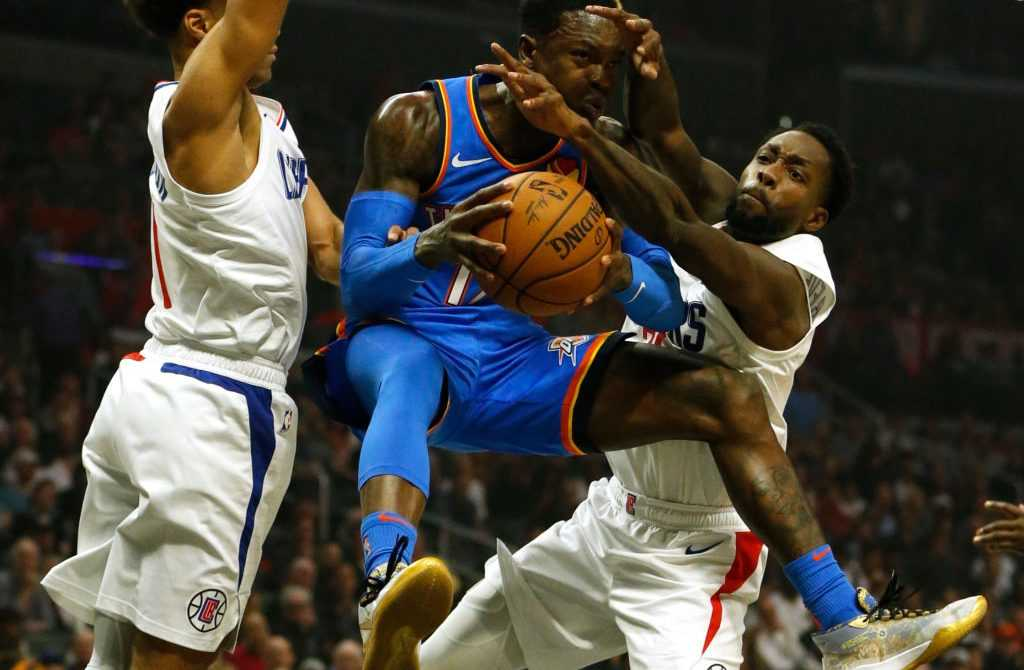 LA Clippers gegen Oklahoma City Thunders - NBA
