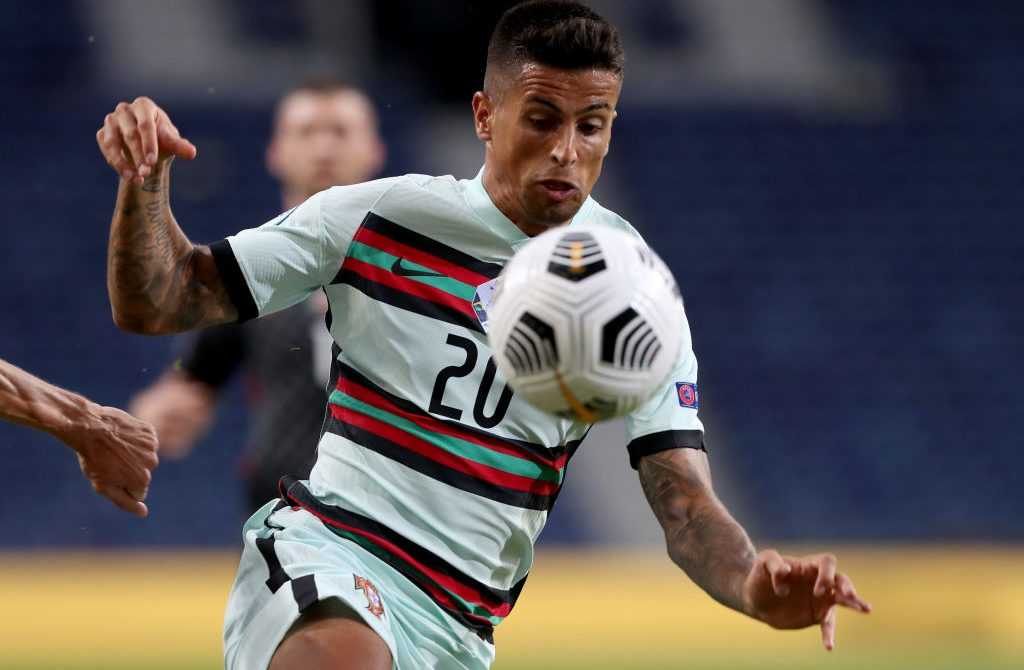 Joao Cancelo am Ball für Portugal