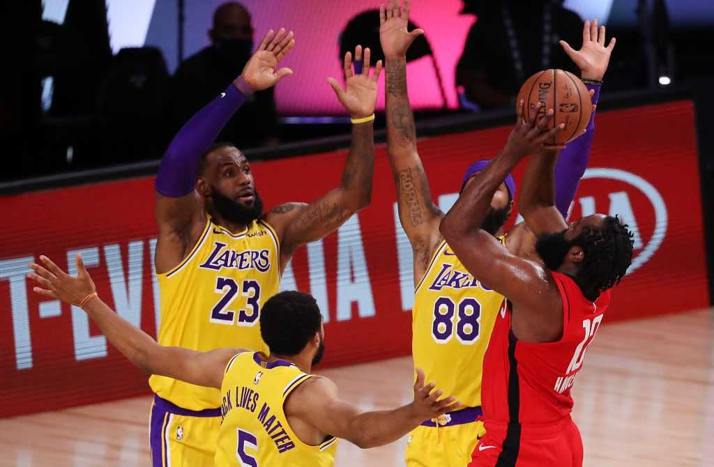 Los Angeles Lakers vs. Houston Rockets - NBA Playoffs