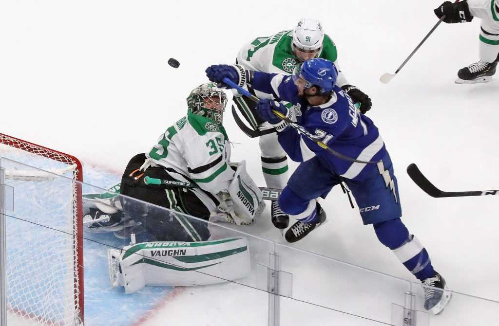 Tampa Bay vs. Dallas Stars, Spiel 2