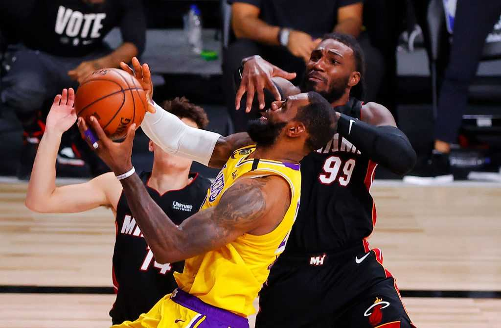Los Angeles Lakers vs. Miami Heat - NBA Playoffs