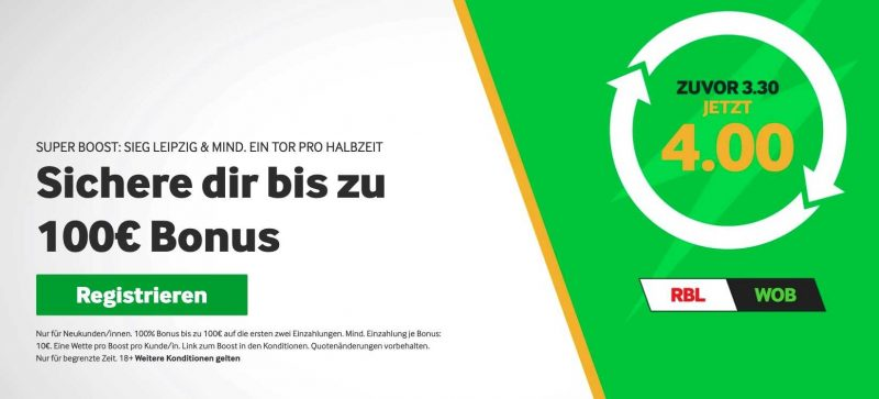 betway Pokal Boost