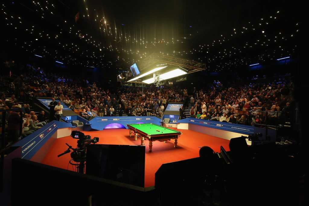Snooker Crucible Theatre