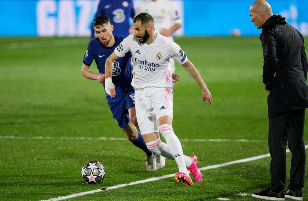 Foto: Getty Images – Karim Benzema, Real Madrid vs. FC Chelsea