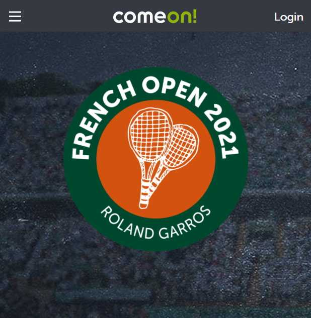 Comeon French Open 2021