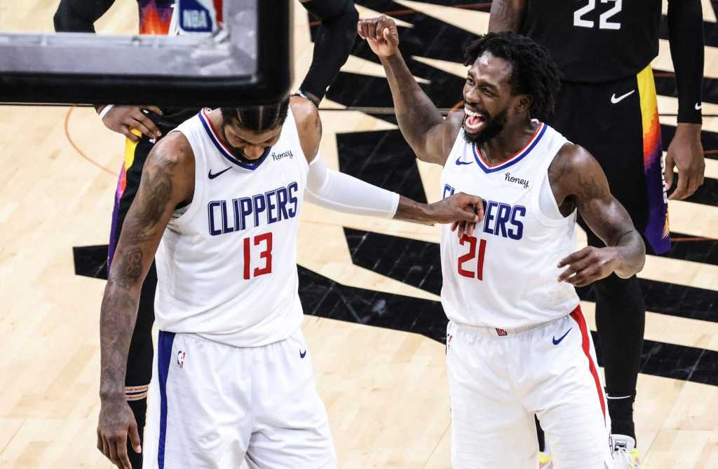 Paul George, Patrick Beverly, Los Angeles Clippers, NBA
